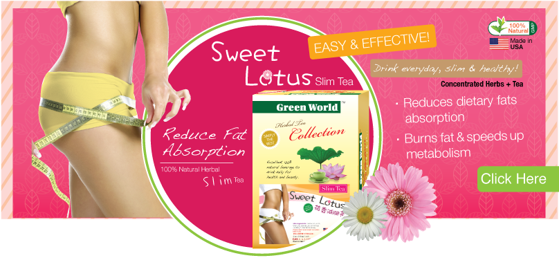 Sweet Lotus Slim Tea Buy 4 Get 1 Free Green Inc Usa